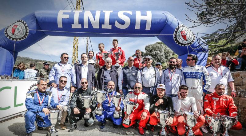 1ère  Course de Côte 2018 Roger Féghali l'emporte une nouvelle fois