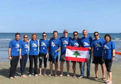 Equipe de l'Aquathlon de l'ATCL Triomphe à Chypre