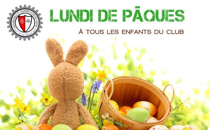 Lundi de Pâques à tous les enfants de l'ATCL !
