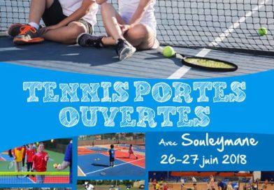 Tennis portes ouvertes à l'ATCL !